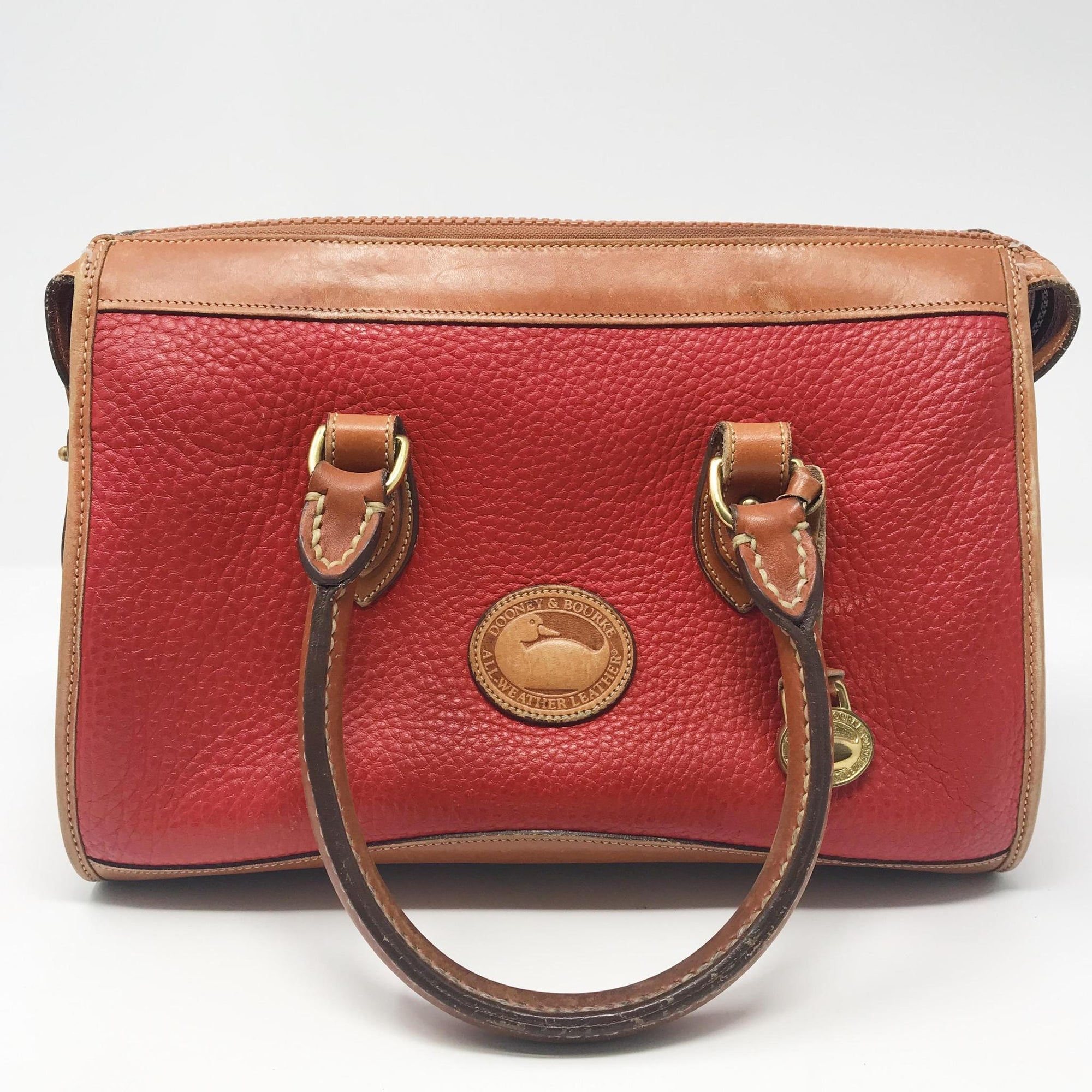 Vintage Red Dooney & Bourke Handbag