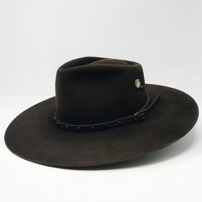 Dark Brown Western Hat- 7