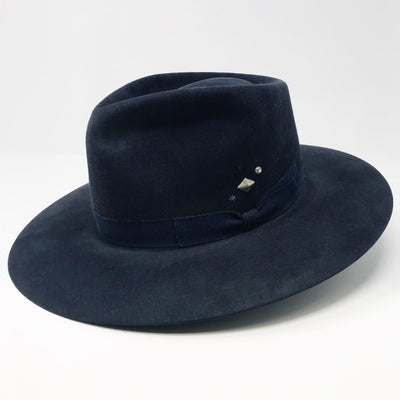 Navy Dress Hat- 7 1/8