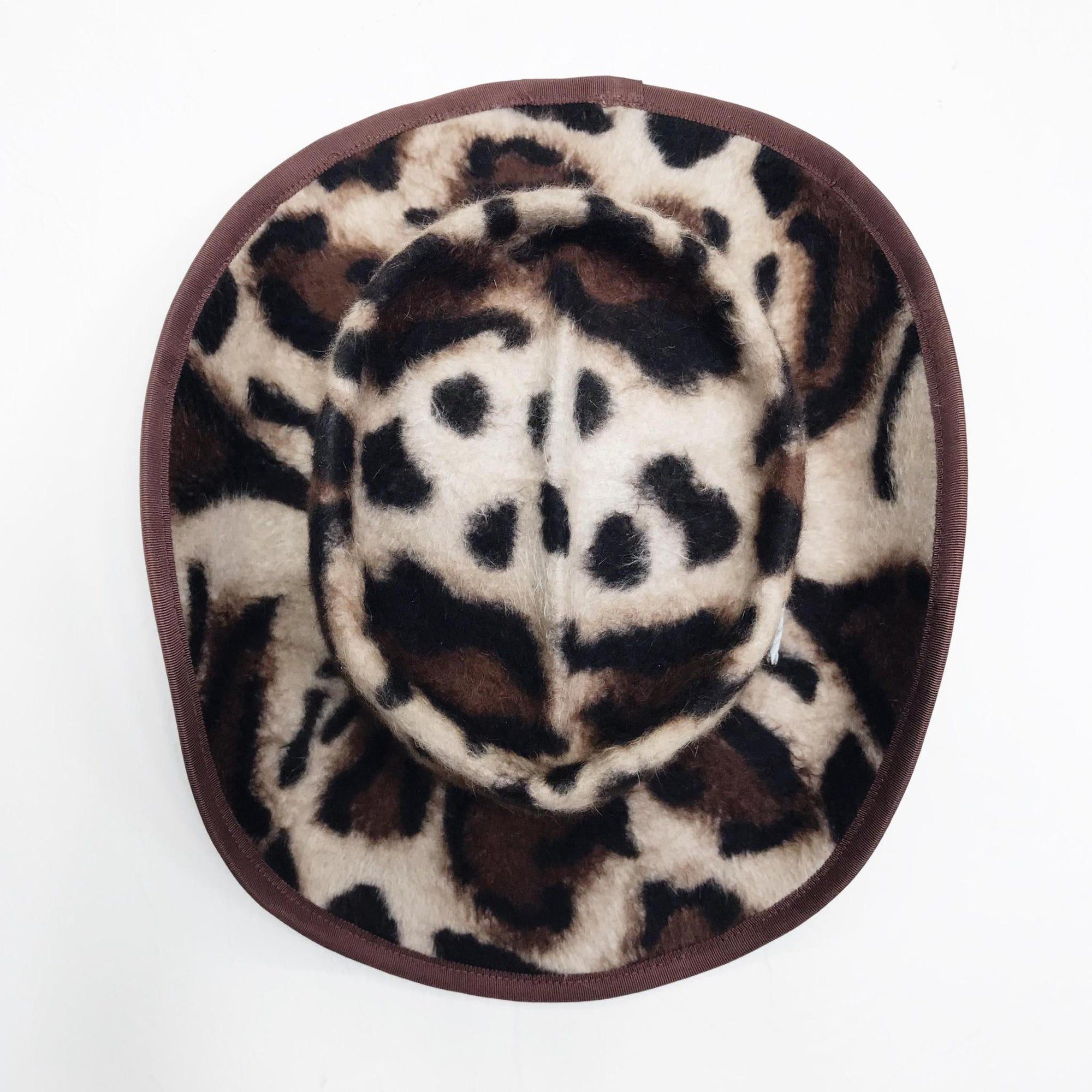 Leopard Print Rabbit Hat