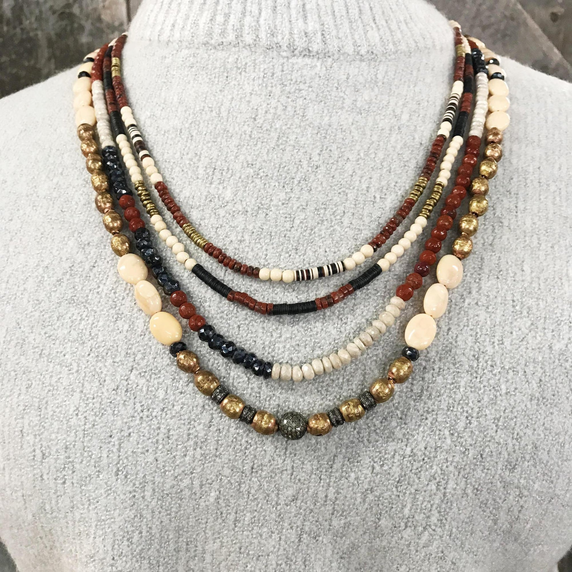 Four Strand Necklace