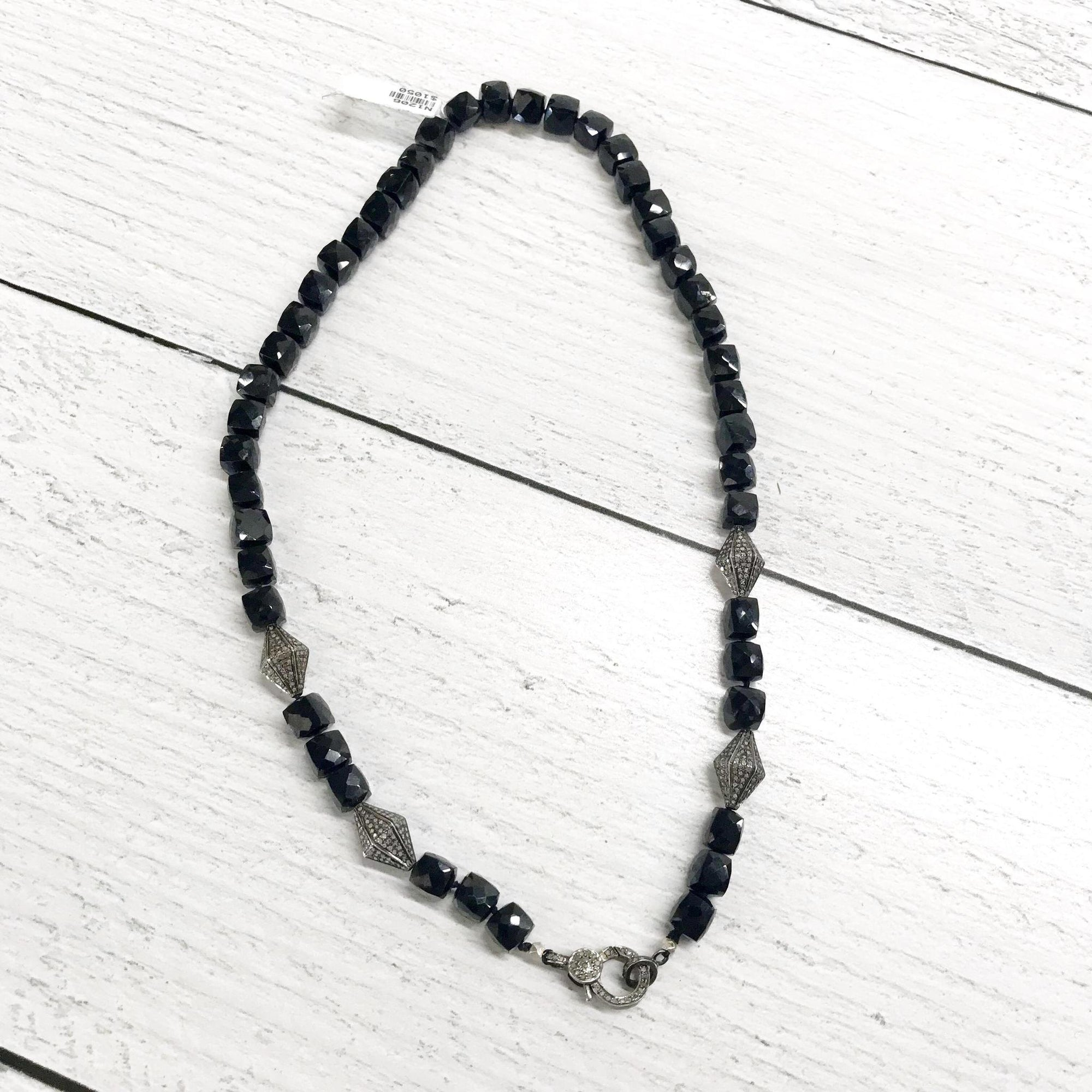 Black Spinel Necklace