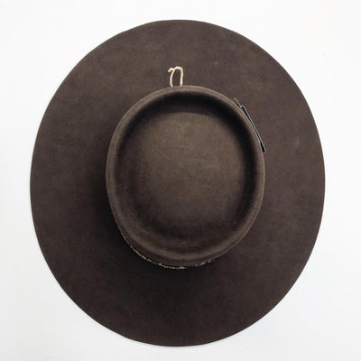Brown Mink Felt Hat