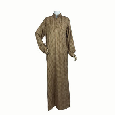 Rust Abaya Dress