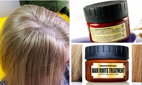 Healthy, root, styling, hair