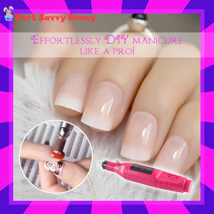 Salon-Grade Manicure Electric Kit