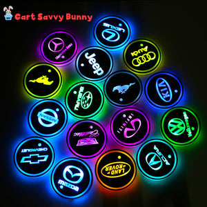 Motion Sensing LED Car Logo Lights