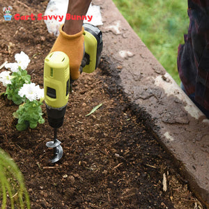 Power Spiral Planter & Garden Auger