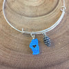 Heart of Tahoe Charm Bangle