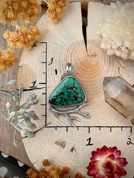Turquoise Mountain Spirit Necklace