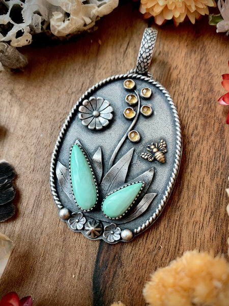 Agave Garden Necklace