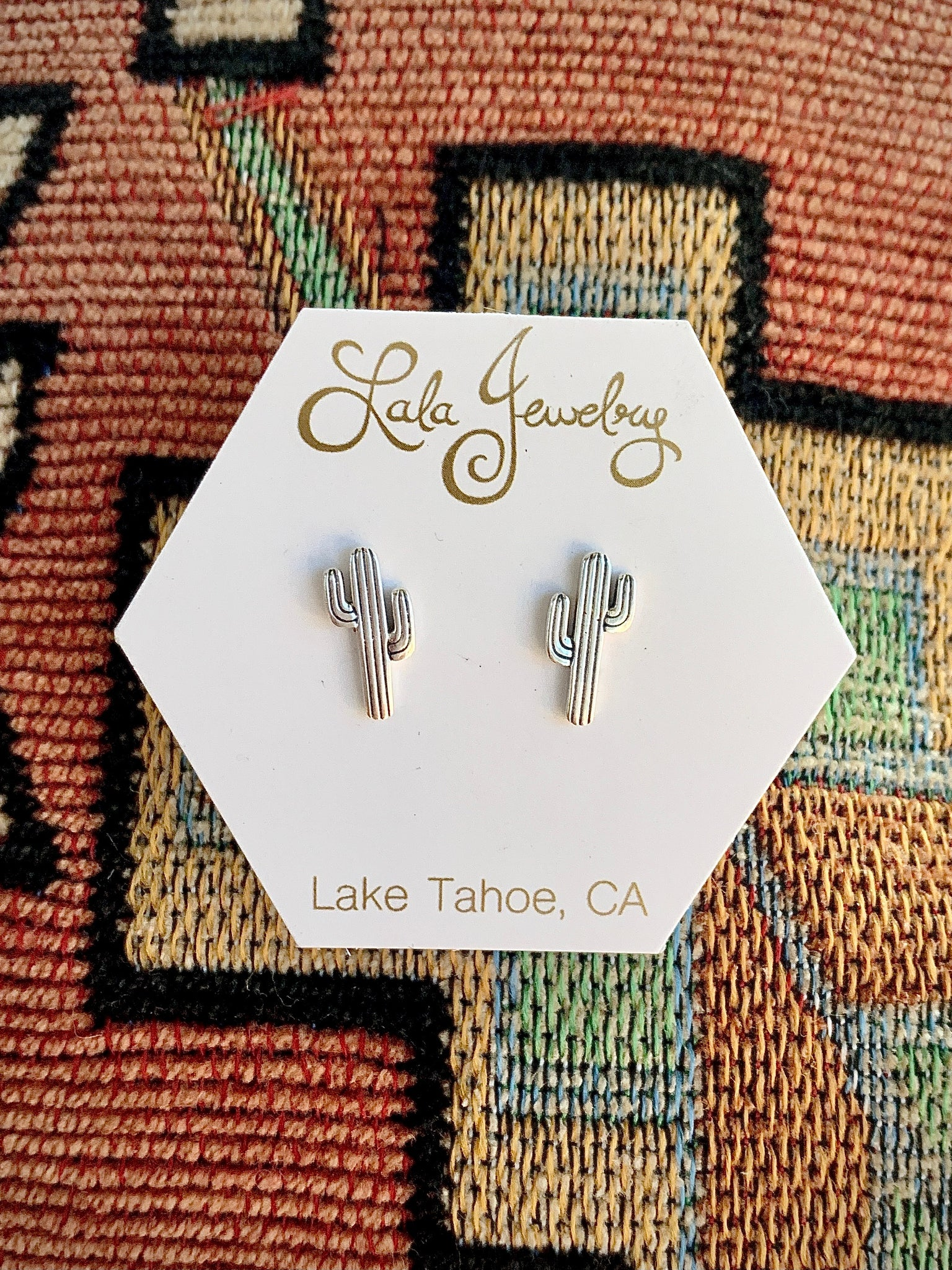Saguaro Post Earrings
