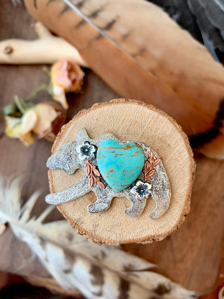 Wild Horse magnesite Mama Bear (made to order)