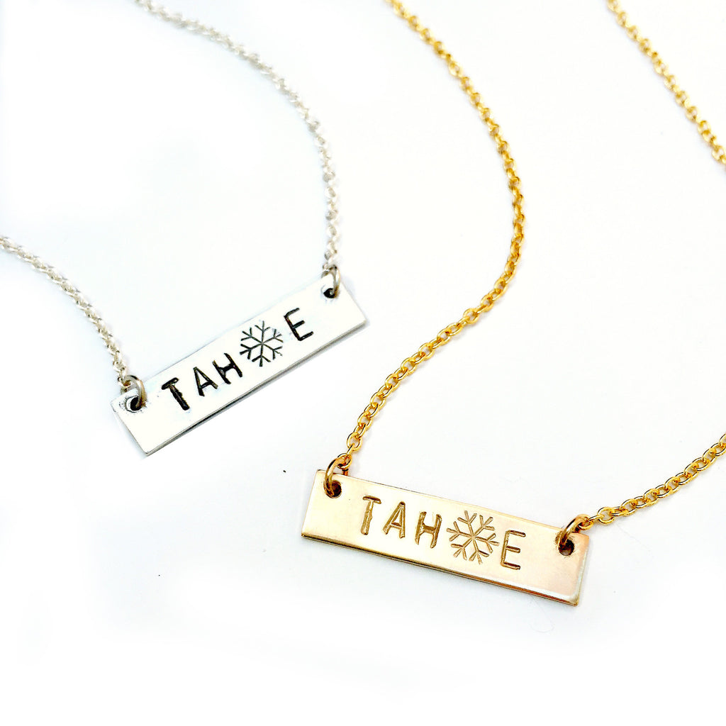Tahoe Bar Necklace