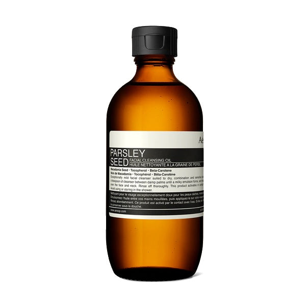Parsley Seed Anti-Oxidant Facial Cleansing Oil 200ml