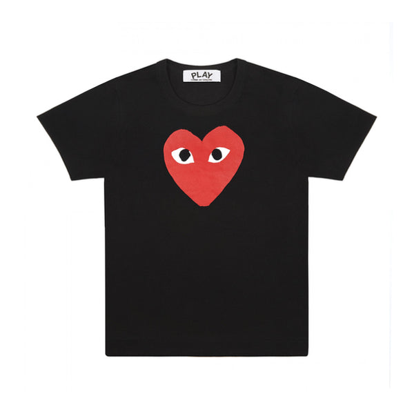 Womens T-shirt big red heart