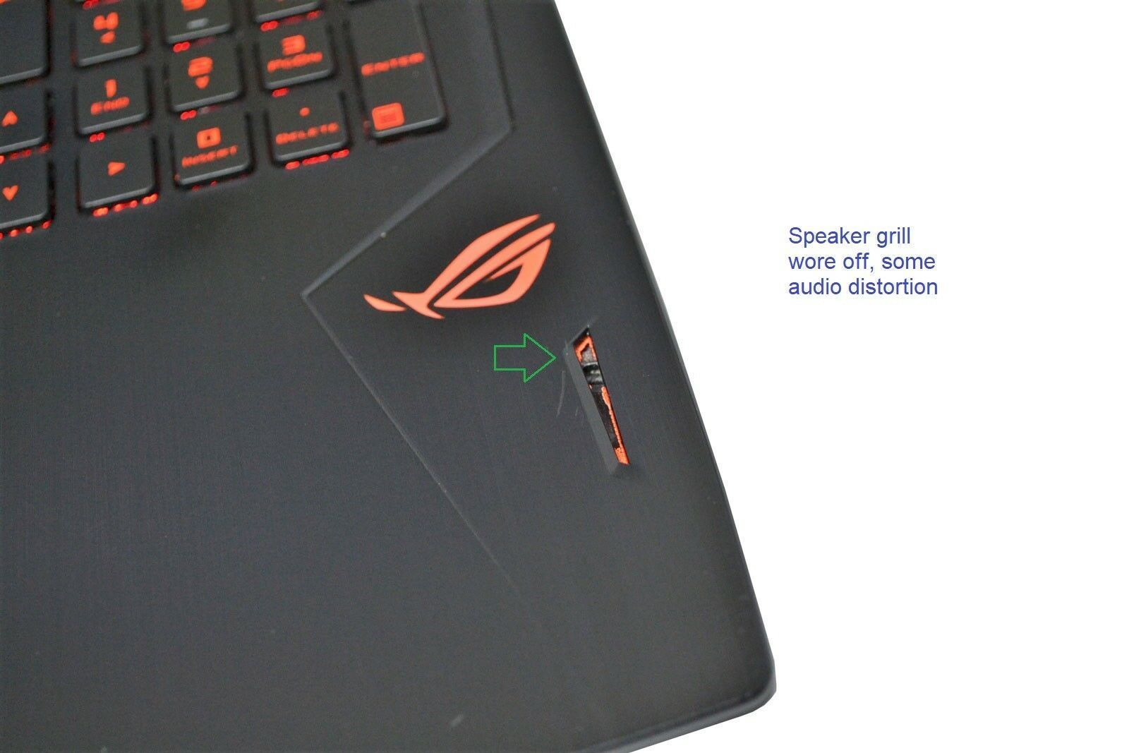 ASUS ROG GL502VM Gaming Laptop: GTX 1060, Core i5-7300HQ, GSYNC (speakers issue) - CruiseTech