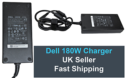 Dell Original 180W AC Charger for Precision / Alienware, HA180PM180, 03XYY8, VAT - CruiseTech