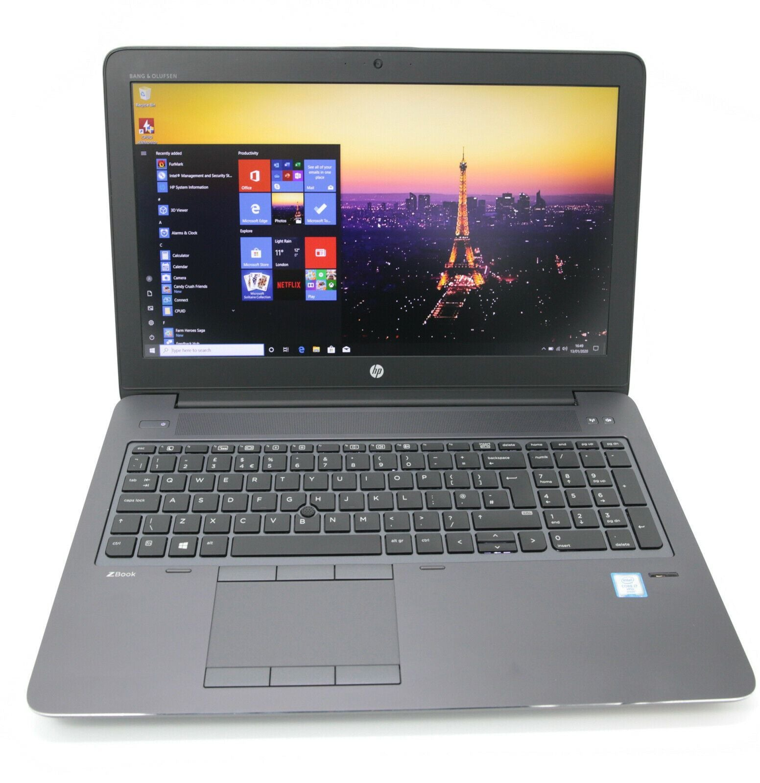 HP ZBook 15 G3 IPS Laptop: Core i7-6820HQ, 240GB 16GB RAM, M2000M Warranty VAT - CruiseTech