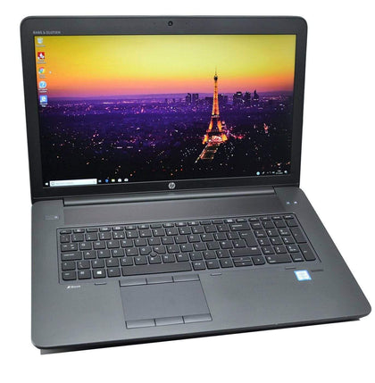 HP ZBook 17 G3 CAD Laptop: 32GB RAM, Core i7, Quadro, 256GB+HDD, Global Warranty - CruiseTech