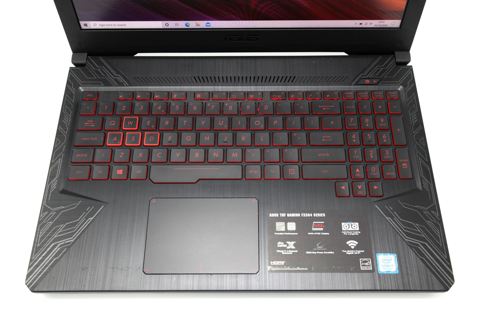 ASUS TUF FX504GM Gaming Laptop: GTX 1060, Core i7-8750H, 256GB+HDD, 8GB RAM - CruiseTech