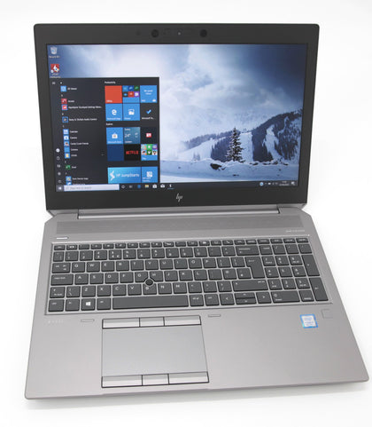 HP ZBook 15 G6 CAD Laptop: Core i7-9850H, 16GB RAM, 512GB, T1000, Warranty VAT - CruiseTech