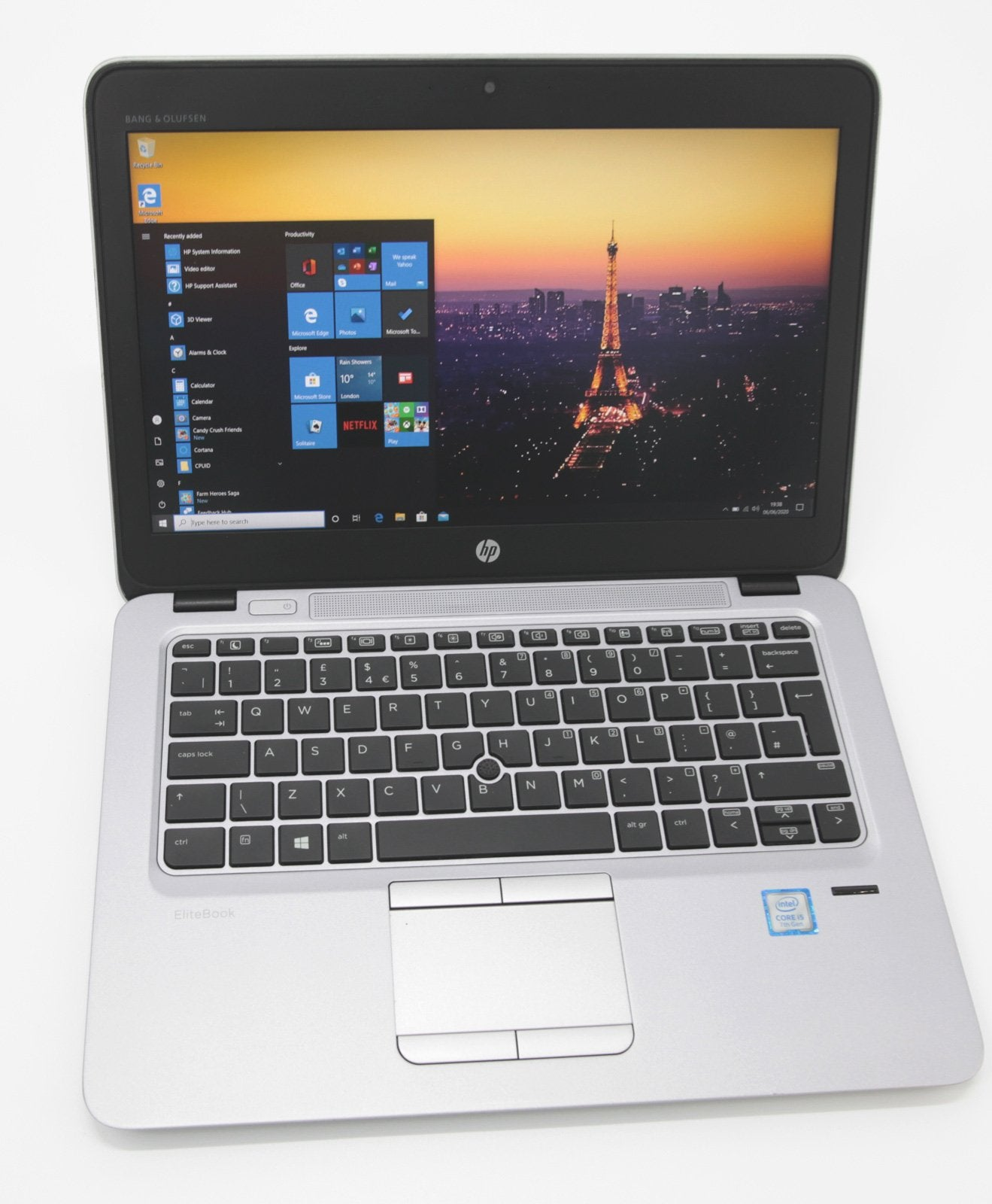 HP EliteBook 820 G4 Laptop: 7th Gen Core i5, 240GB 8GB Warranty VAT (Grade B) - CruiseTech