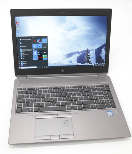 HP ZBook 15 G5 Laptop: Core i7-8850H, 16GB RAM, 512GB SSD, P2000, Warranty - CruiseTech