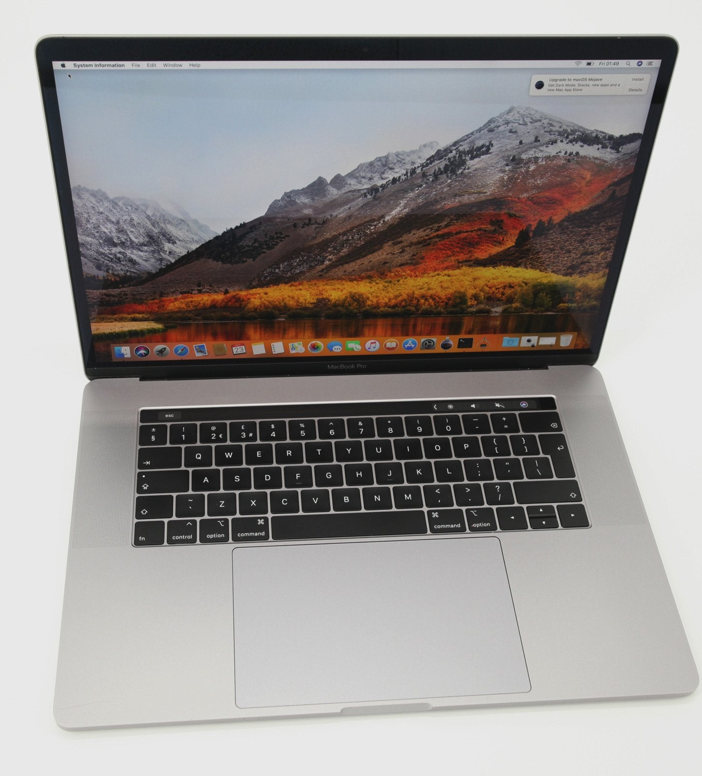 Apple MacBook Pro 15-Inch 2018 Core i9 2.9Ghz 6-Core, 16GB RAM, 512GB SSD - CruiseTech