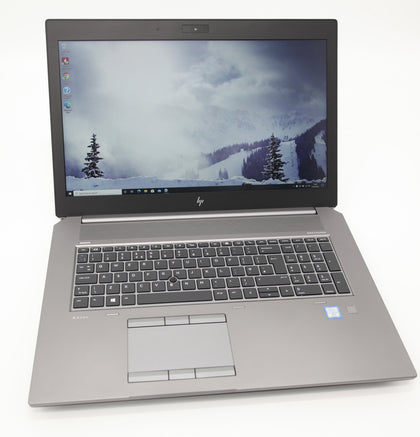 HP ZBook 17 G5 Laptop: Core i7-8850H, 32GB RAM, 512GB, NVIDIA P3200 Warranty VAT - CruiseTech