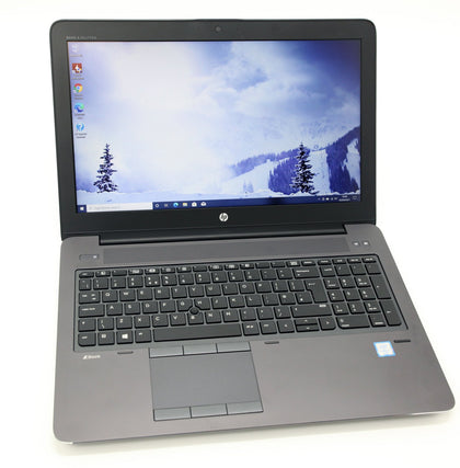 HP ZBook 15 G3 Workstation Laptop Core i7-6820HQ NVIDIA, 16GB RAM 256GB Warranty - CruiseTech