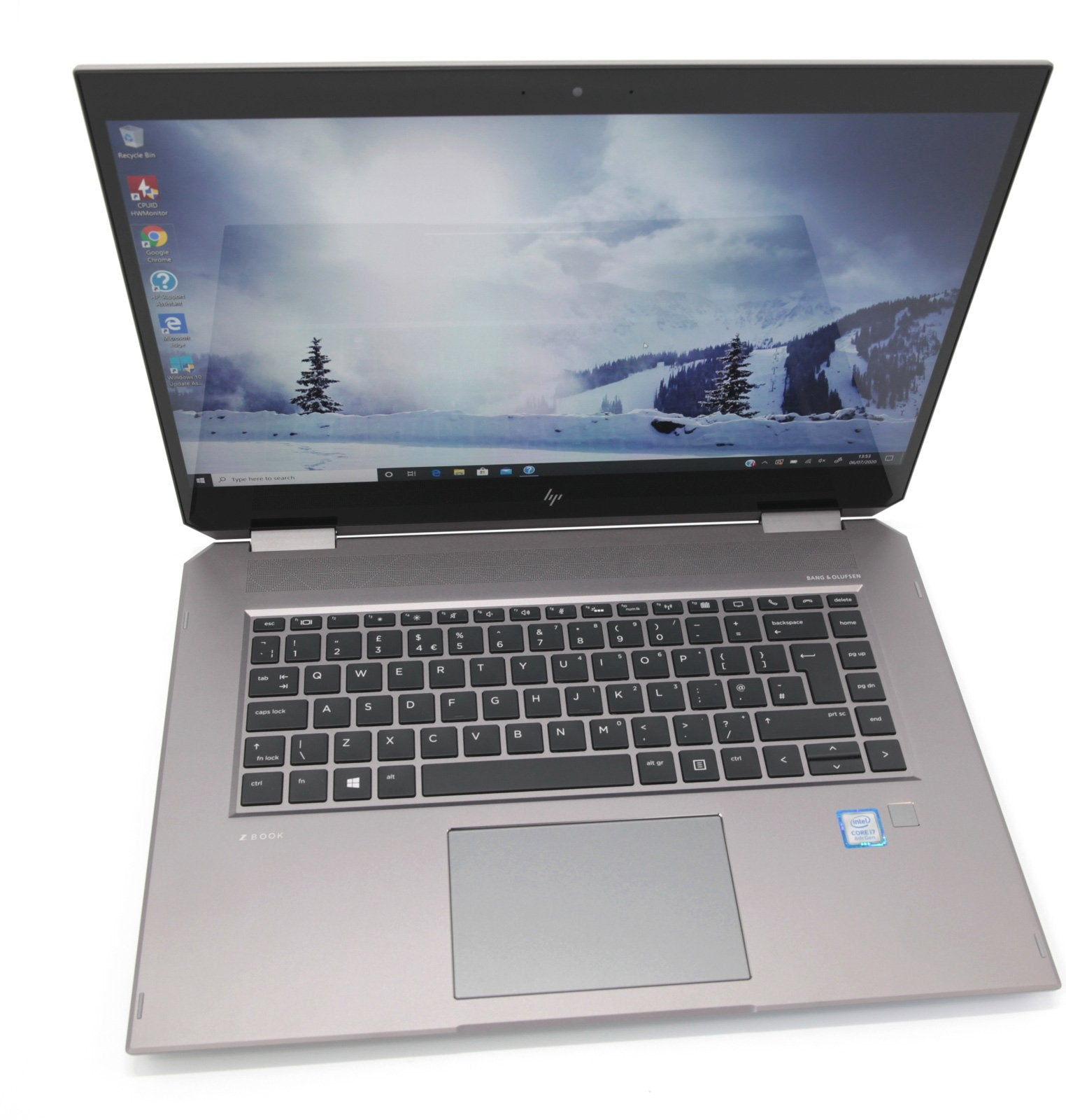 HP ZBook 15 G5 Studio Touch Screen Laptop: Core i7, 16GB RAM, 256GB, Warranty - CruiseTech