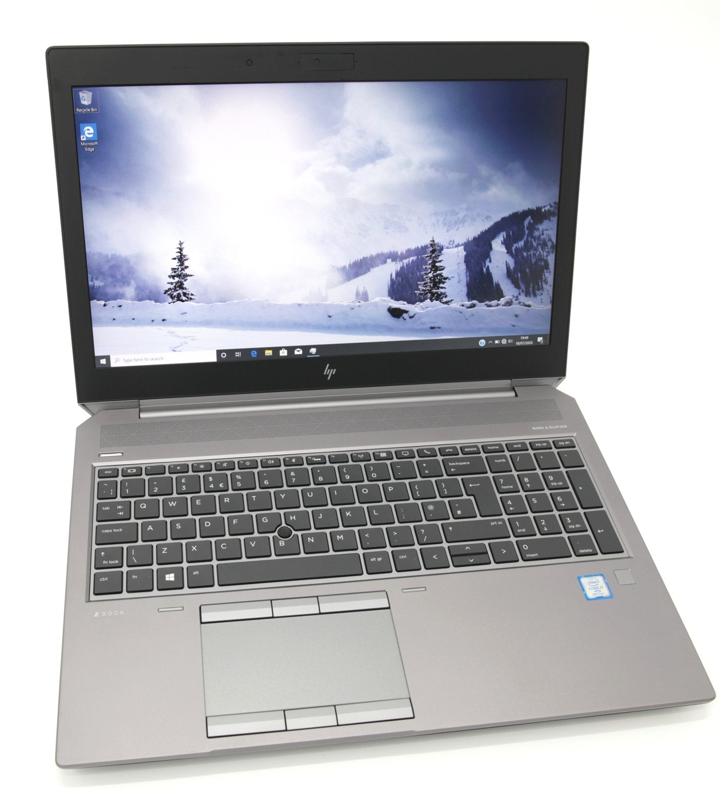 HP ZBook 15 G5 Laptop: Core i7-8850H 16GB RAM 512GB, P2000 Warranty (Grade C) - CruiseTech
