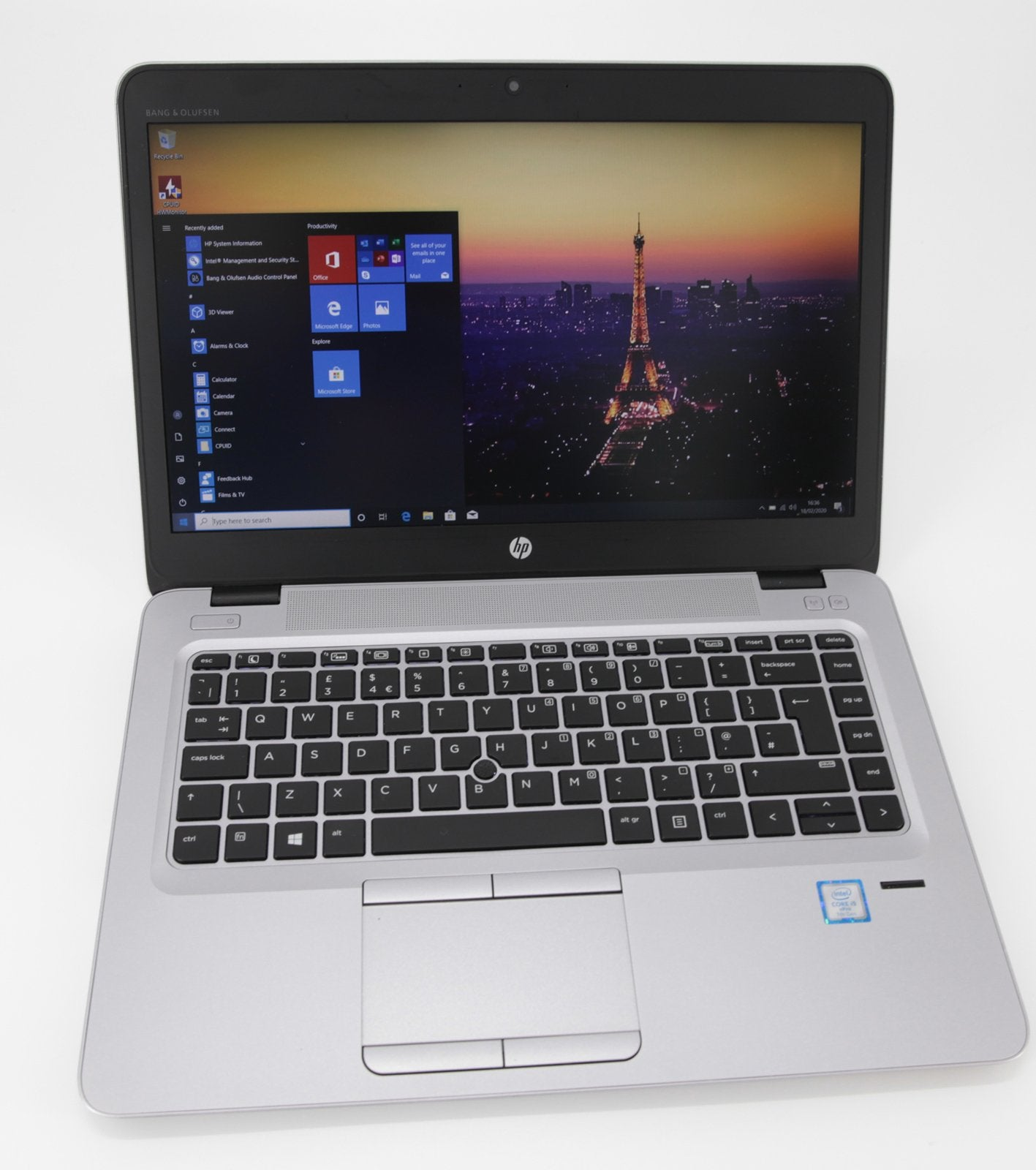 HP EliteBook 840 G4 Laptop: 7th Gen Core i5, 256GB 8GB Warranty VAT (Grade B) - CruiseTech