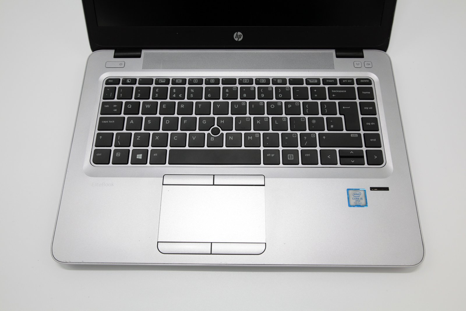 HP EliteBook 840 G4 FHD Laptop: 256GB 7th Gen i5, 8GB RAM Warranty VAT (Grade 3) - CruiseTech