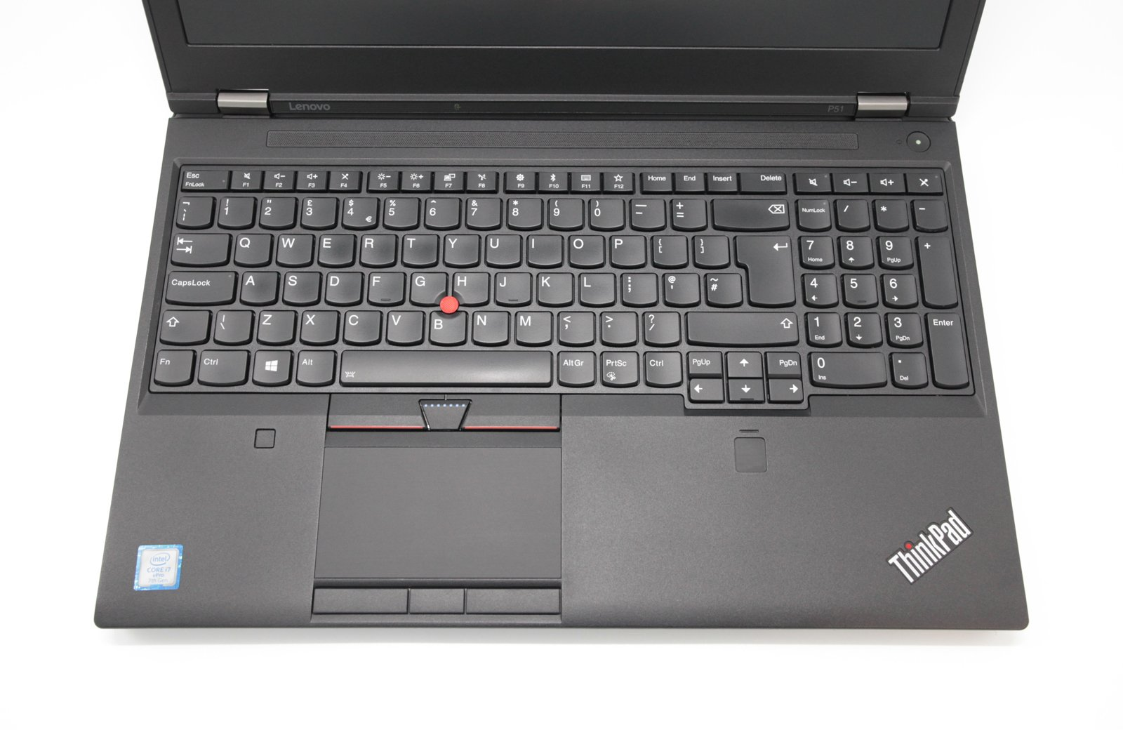 Lenovo ThinkPad P51 Laptop Core i7-7820HQ 16GB RAM 250GB Quadro Warranty Inc VAT - CruiseTech