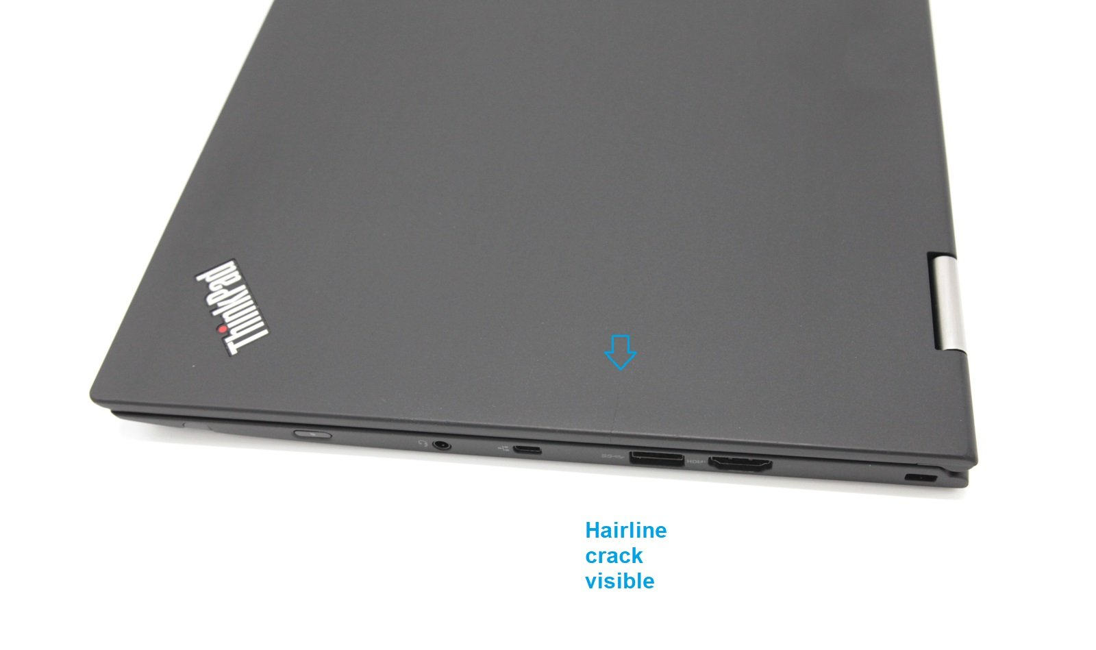 Lenovo Thinkpad X1 Yoga 2nd Gen Laptop: Core i7-7600U, 16GB RAM, 512GB (Grade C) - CruiseTech
