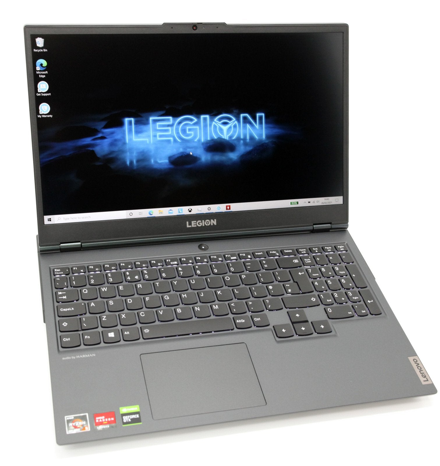 Lenovo Legion 5 Gaming Laptop: Ryzen 5-4600H, 8GB RAM, GTX 1650, 256GB, Warranty - CruiseTech
