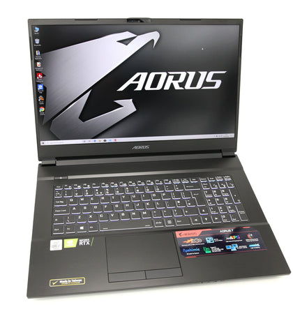 AORUS Gaming Laptop: RTX 2060, Core i7-10750H, 16GB RAM, 512GB+1TB, Warranty - CruiseTech