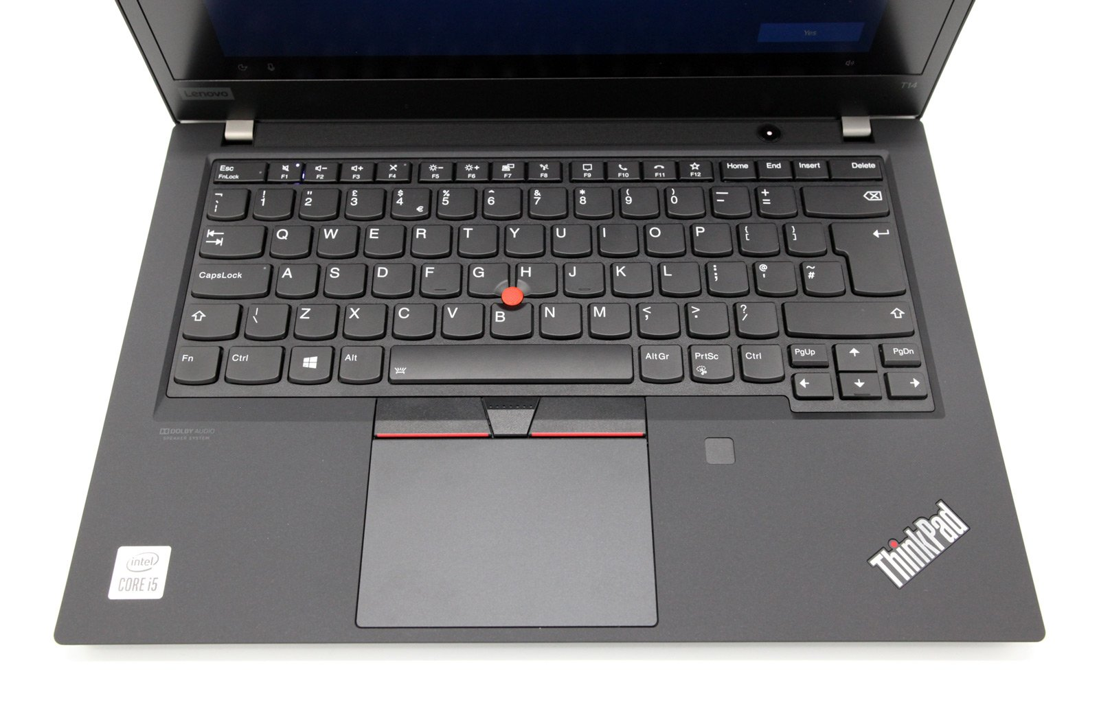 Lenovo ThinkPad T14 Gen 1 Laptop: i5-10210U, 256GB SSD, 8GB RAM, Warranty - CruiseTech