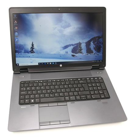 HP ZBook 17 CAD Laptop: Core i7-4930XM, 32GB RAM 240GB, Quadro K5100M