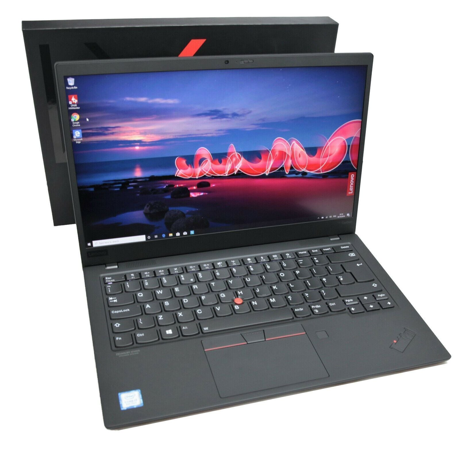 Lenovo Thinkpad X1 Carbon 7th Gen (2019): Core i7-8656U, 256GB, 16GB RAM, Warranty, VAT - CruiseTech