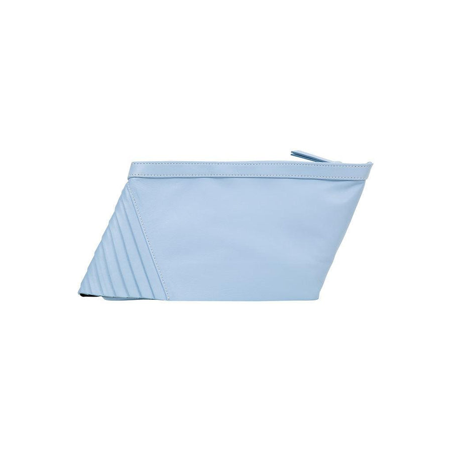 80571 S Power Clutch: Sky Blue Lambskin - Sabrina Zeng