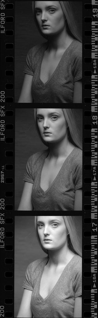 Ilford SFX 200 Exposure Set