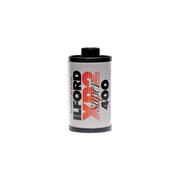Ilford XP2 35mm film canister