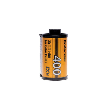 Kodak Super Gold 400 35mm film canister