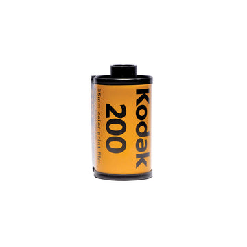Kodak Gold 200 35mm film canister