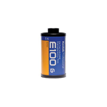Kodak E100G 35mm Film Canister