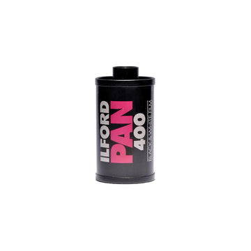 Ilford Pan 400 35mm Film Canister