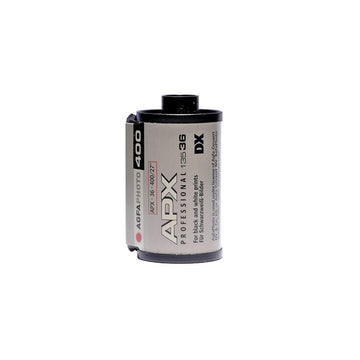 Agfa APX 400 35mm film canister